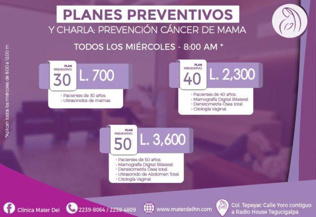 Planes preventivos - Miercoles